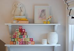 nursery shelving by The Estate of Things, via Flickr