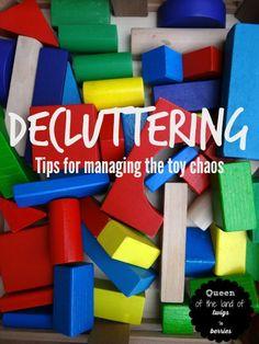 Decluttering Tips - www.queenofthelandoftwigsnberries.com