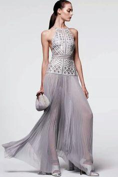 beautiful grey dress