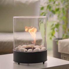 Bioethanol Fireplace, Diy Fireplace, Backyard Garden Design, Small Garden Design, Modern Wood Burning Stoves, Home Decor Kitchen, Home Accessories, Living Room Decor, Interior Decorating