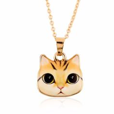 You'll say ooh-la-la when you see the Hot Selling Color... Check it out! http://catrescue.myshopify.com/products/hot-selling-colorful-korean-enamel-cat-necklace?utm_campaign=social_autopilot&utm_source=pin&utm_medium=pin