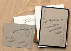 Rustic Black & White  Rustic Recycled Wedding by BeaconLane,