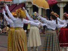 fête les beaux jours of main street USA at disneyland paris