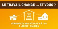 Conférence et tableau ronde à la mêlée numérique de Toulouse juin 2015 / #télétravail #coworking #tierslieux #meleenum