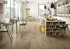 Gres porcelánico de efecto madera y parqué  - Marazzi 6541