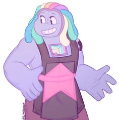 Writing World - shellsweet: Bismuth! I need more Bismuth! Bismuth Steven Universe, Steven Universe Gem, Universe Art, Steven Universe Personajes, Steven Universe Drawing, Holly Blue, Chibi, Cartoon Network, Pink