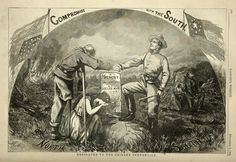 """Thomas Nast """"Compromise with the South"""" (Click on Image for Enlarged ..."""