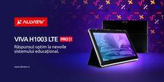 Tabletă Allview special concepută pentru școala online – Viva H1003 LTE PRO/1 Tech, Color, Tablet Computer, Technology