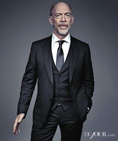 """Actor J.K. Simmons talks about his role in """"Whiplash"""" and his relationship with co-star Miles Teller."""