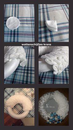 wattenschijfjes krans