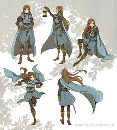 Cape Gestures by Radittz, cloth, cape poses, fabric Female Character Design, Character Creation, Character Design References, Character Drawing, Character Design Inspiration, Character Concept, Concept Art, Character Sheet, Character Ideas
