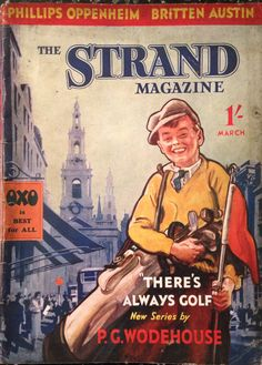 The Strand Magazine March 1936 Golf Cover