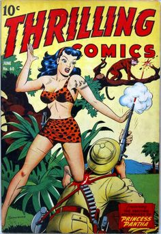 Thrilling Comics.