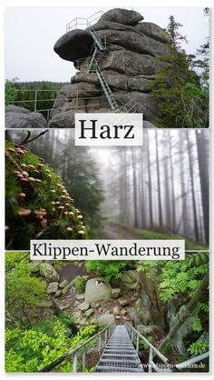 Klippen-Wanderung bei Schierke – Etappen-Wandern Cliff hike in the Harz Mountains Places To Travel, Travel Destinations, Places To Visit, Africa Destinations, Travel Around The World, Around The Worlds, Landscape Arquitecture, Day Hike, Train Travel