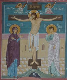 Trinidad, Odilon Redon, Christian Crafts, Byzantine Icons, Holy Cross, Orthodox Icons, Cristiano, Religious Art, Lent