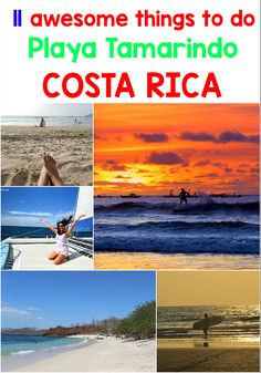 11 awesome things to do in the popular surfing beach Playa Tamarindo in Costa Rica http://mytanfeet.com/activities/things-to-do-in-tamarindo/