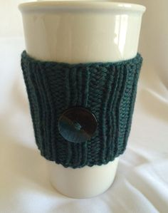 A perfect green sweater for his to-go cup! $10.50 plus shipping, and it's yours!  #Craftshout