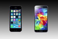 Samsung Galaxy S5 vs iPhone 5S