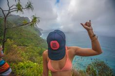 Hiking on the Napali Coast - lucky we live hawaii