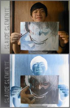 Funny pictures about Negative Drawing. Oh, and cool pics about Negative Drawing. Also, Negative Drawing photos. Cool Drawings, Drawing Sketches, Pencil Drawings, Character Art, Character Design, Kaneki, Drawing Tutorials, Cute Art, Amazing Art