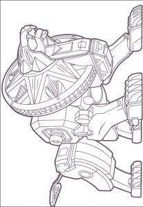 Imagens para pintar dos Power Rangers - 60