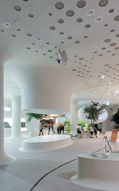 1 | South Korean Prehistory Museum, Or Giant Cyborg Worm Monster? | Co.Design | business + design