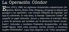 La Operación Cóndor | A mi me encanta 1ère, p. 174