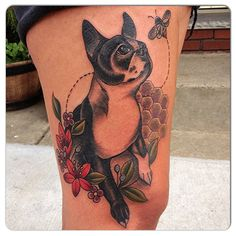 Tattoo by Rachael Shelly, Black Vulture Gallery, USA. http://instagram.com/rachaelshellytattoos