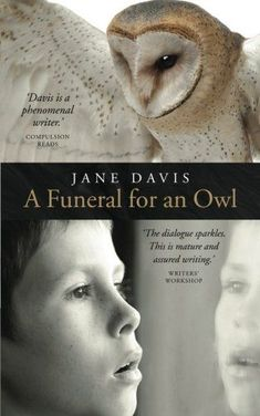 """Book Review for """"A Funeral for an Owl"""" by Jane Davis. Summary: """"A schoolyard stabbing sends wingbeats echoing from the past. One shocking event. Two teachers risk their careers to help a boy …"""