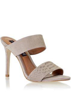 008147093f4  129.00 Steve Madden Womens Roxxana Size 10 Medium - Taupe Multi  fashion   shoes Strap