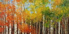 landscape painting by Tatiana Iliina, Turning Point