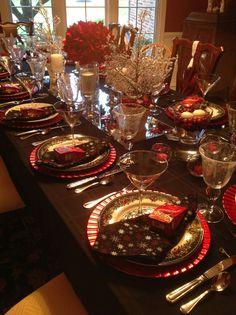 Sassy Green Interiors LLC Christmas brunch 2012