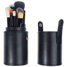 So Beauty 12pcs Professional Cosmetic Black Makeup Brush Set With Roll Bag Case -- Read more at the image link. (This is an affiliate link) #ToolsAccessories
