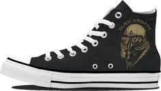 Black Sabbath High Top Sneakers