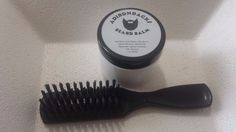 Beard Balm 2 oz For Men Made in USA With Brush #AdirondacksbeardoilCOMB