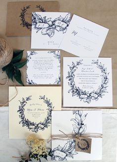 romantic misty mountain wedding place card fonts and wedding menu