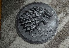 [NO SPOILERS] First of its kind ! House Stark logo crafted by me : gameofthrones