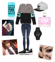 """""""Untitled #13"""" by dachiri on Polyvore featuring George, NIKE, adidas and Victoria's Secret"""