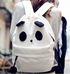 cute kawaii Panda bag backpack