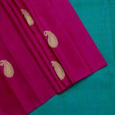 Sarangi Handwoven Kanjivaram Silk Sari - 350127910 from Sarangi * Feel Beautiful