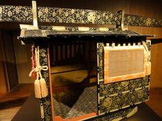 Palanquin (Sänfte) im Nagoya Castle, Japan