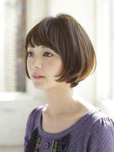 大人ショートボブ Short Bob Hairstyles, Cool Hairstyles, Shot Hair Styles, Hair Arrange, Corte Y Color, My Hairstyle, Asian Hair, Cut My Hair, Very Long Hair