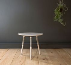 A Minimal Table Inspired by Japanese Hand Tattooing