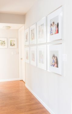 Simple Gallery Wall - August Joy Studios