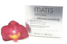 Matis Densifiance Soir Restructuring Evening Care replenishes the skin during the sleep cycle. This exclusive nighttime treatment contains the Densiderm complex of dill and soy extract to boost elastin functionality, fibroblast activity and collagen production for firmer, toned skin. Used nightly, Matis Densifiance Soir Restructuring Evening Care will promote cellular turnover to reveal more youthful, radiant skin. #Matis #skincare #nightcream #facecream #antiaging #allskintypes
