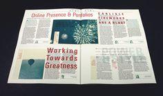 The Informer Newspaper by Gary Nicholson, via Behance