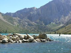 Convict Lake near Mammoth, CA Mammoth Lakes California, Family Kids, Art Gallery, My Arts, Mountains, Places, Travel, Art Museum, Viajes