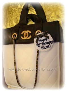 Cake Central - Channel Handbag - purse & shoe 50th birthday cake  — Clothing / Shoe / Purse