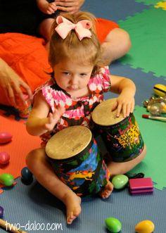 construção de linguagem através da música - sensorial
