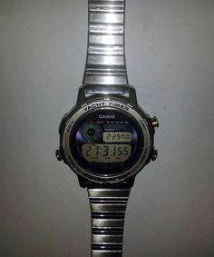 CASIO trw 301 YACHT TIMER,LCD,RARE VINTAGE, CHRONO